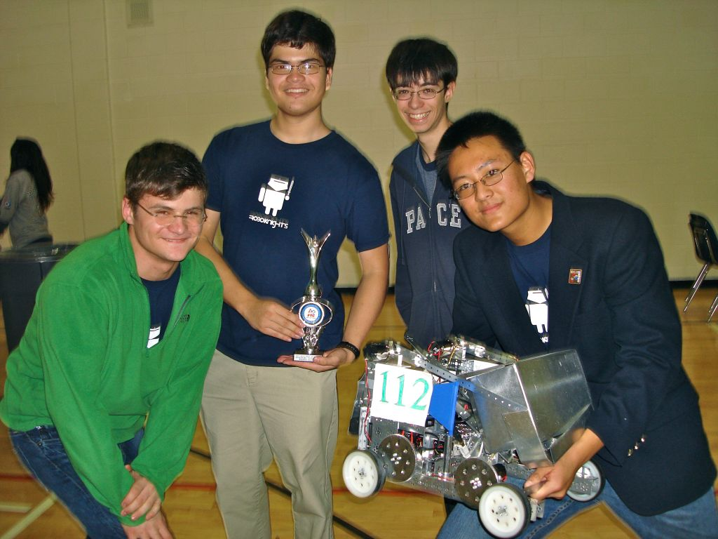 Pace RoboKnights Kell Regional Champs for Second Straight Year