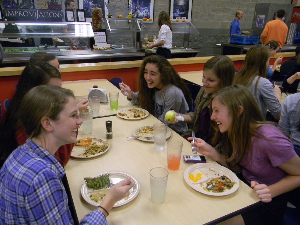 Opinions Differ on School Lunches