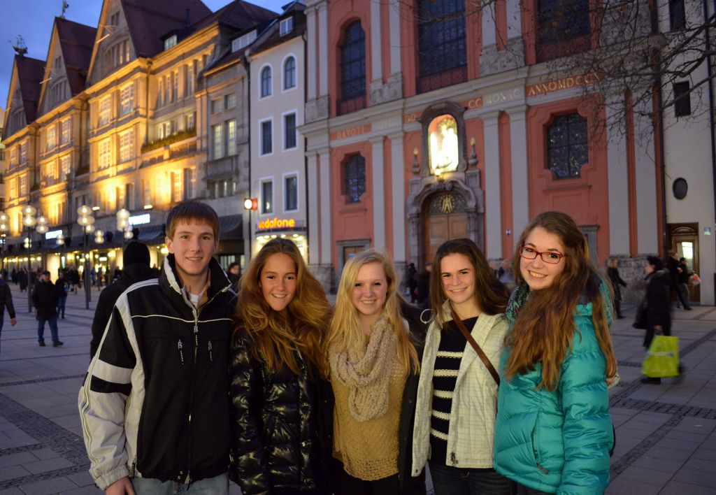 Changing Places: Pace Students Go to Germany