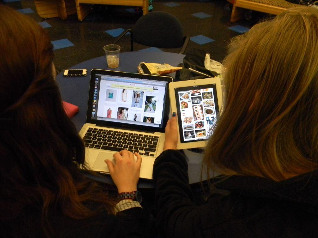 Pinterest Piques Students' Interest