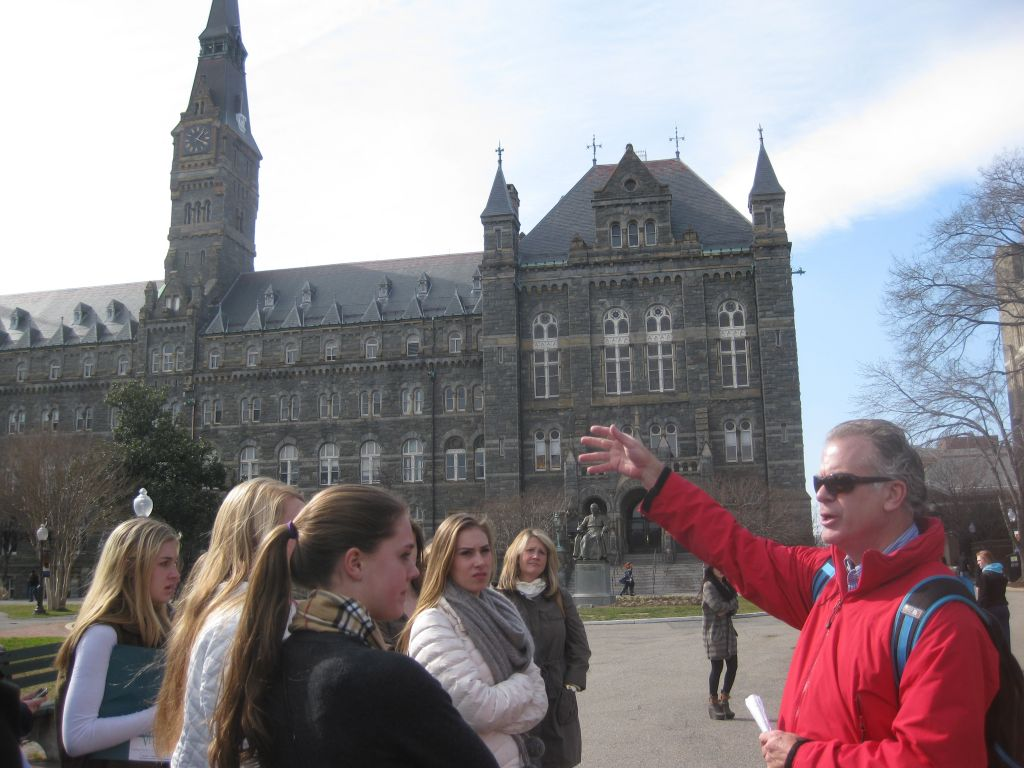 Pace Takes Colleges by Storm: College Trip 2012