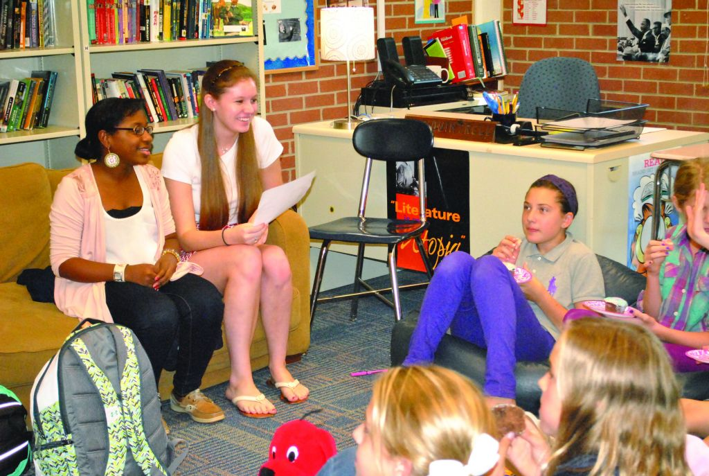 Girl Talk Helps to Guide Middle School Girls