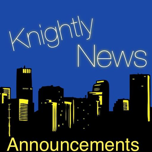 Announcements 1.25.2013