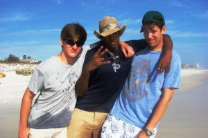 Juniors Baiza Cherinet, Harrison Halberg, and Chris St. Paul hope to have as much fun as they did last spring break together.