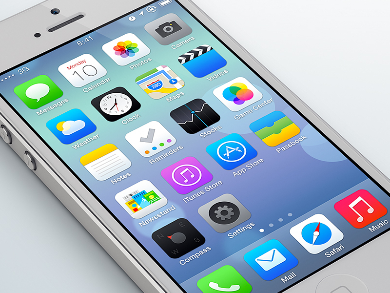 iOS 7 Takes Design Cues from Google, Moves Forward