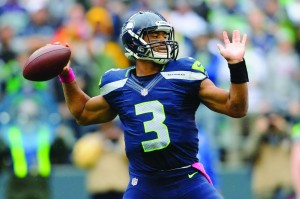 Russell Wilson could lead the Seahawks deep into the playoffs. Photo: http://www.totalprosports.com/wp-content/uploads/2013/04/12-russell-wilson-seattle-seahawks-biggest-nfl-draft-steals.jpg