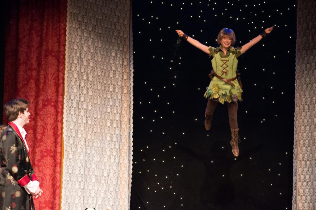 """Behind the Scenes of """"Peter Pan"""""""