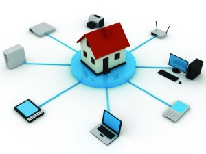 The home of the future is connected through various types of technology. Photo: Google