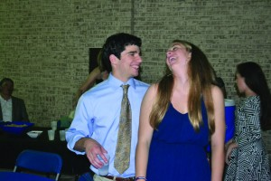 Senior couple Aaron Simon and Evelyn Hobbs look forward to spending Valentine's Day together. Photo: Evelyn Hobbs