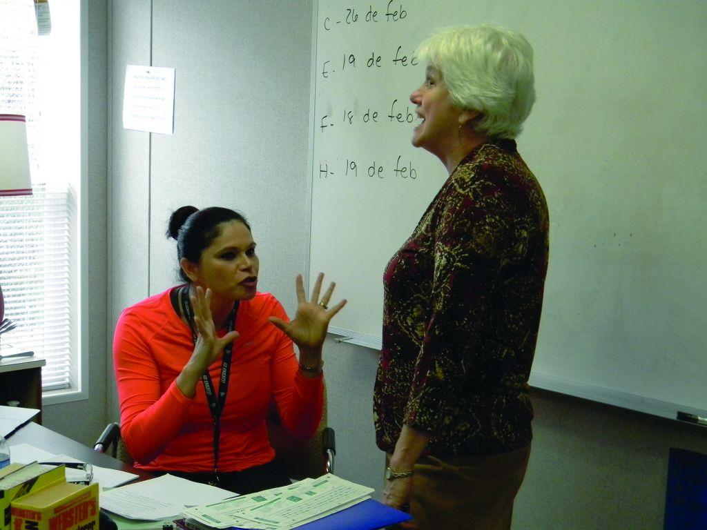 Gossip Amongst the Teachers