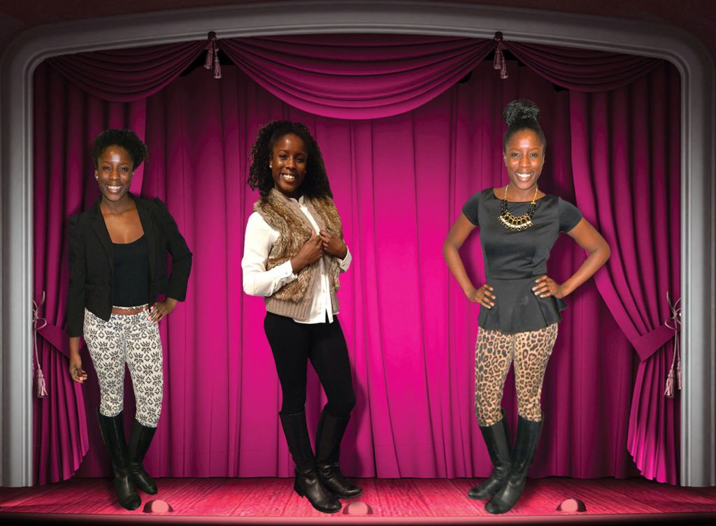 Three Looks with Symone Sommerville