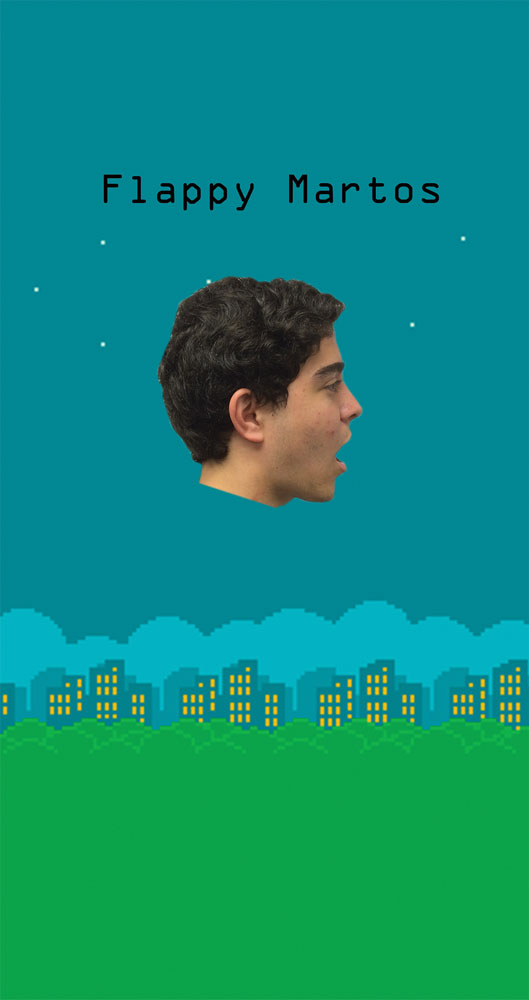 'Flappy Martos' in Development