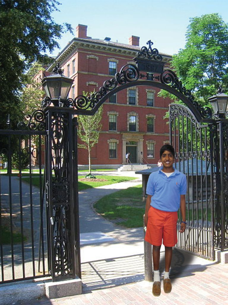 Prashanth Kumar Goes to College