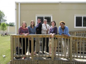 Claire Strowd, Jenni Coale, Kevin Coale, Jere Link, Megan Dickherber and Regina Tate, along with Tom Kates (Not pictured), are leaving large shoes to fill when they leave next year. Photo Credit: Wilson Alexander