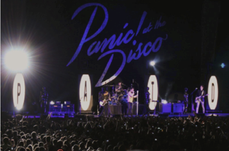Panic! steals the show with their amazing special effects.