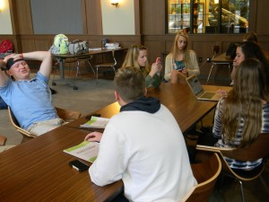 Juniors dominate the Seaman Family Student Commons, according to a recent poll.  Photo: Zack Kaminsky