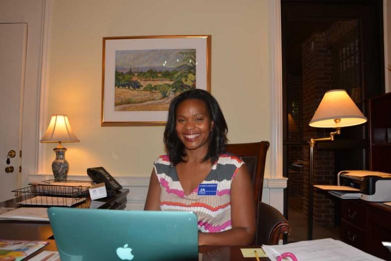 Syreeta Moseley is looking forward to a great academic year as head of the lower school. Photo: Jordan Harris