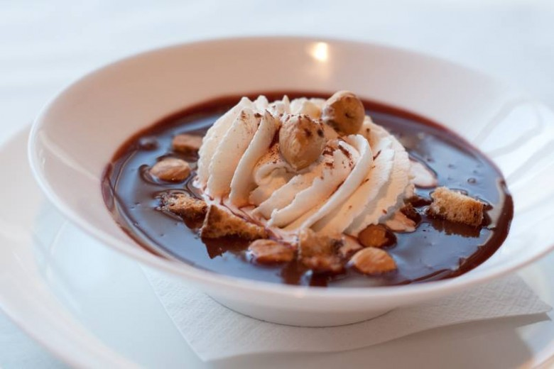 The Zuppa di Cioccolato deliverns an authentic Italian treat. Photo: Sotto Sotto