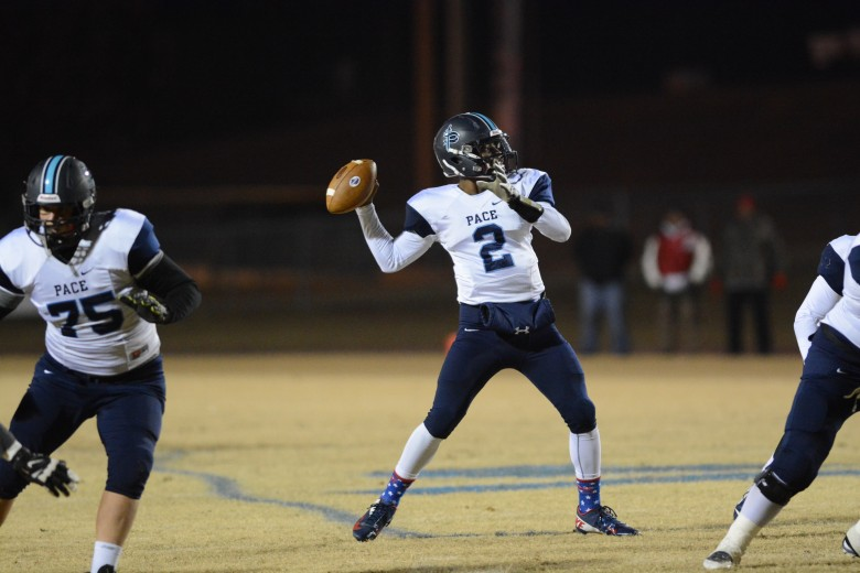 Senior quarterback Kevin Johnson has accounted for 16 touchdowns in his last three games, including a career high 6 scores in the shootout win over Jefferson County.