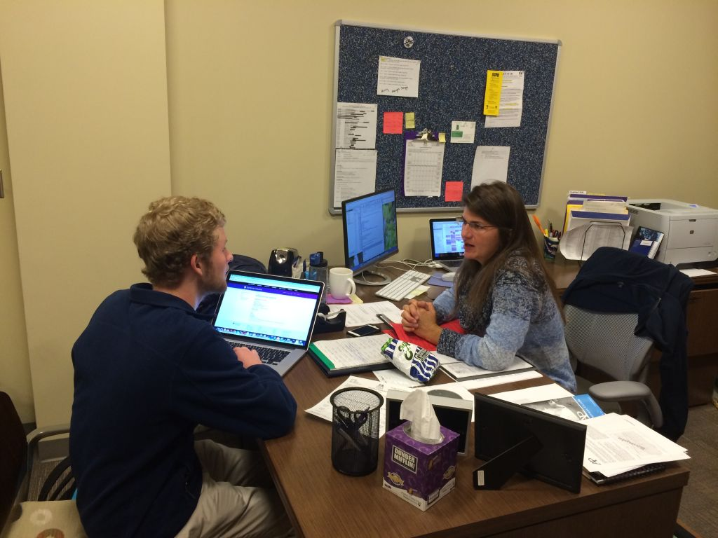 Mrs. Meyring Provides Ray of Sunshine to College Admissions Process