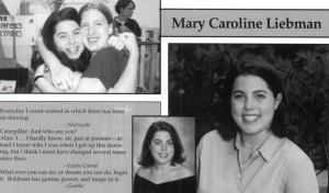Ms. Liebman's senior yearbook photo ('00)