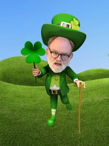 After finding out he was a Leprechaun, Dr. Dupree began exploring the rolling hills of Ireland. Photo: Landon Goldstein