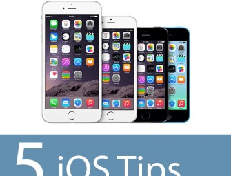 Five iOS Tips for Busy Students