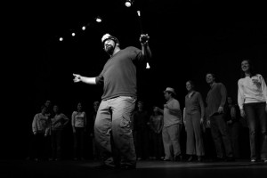 Alumni in 2006 performed Encore to celebrate the 15th anniversary of the FAC