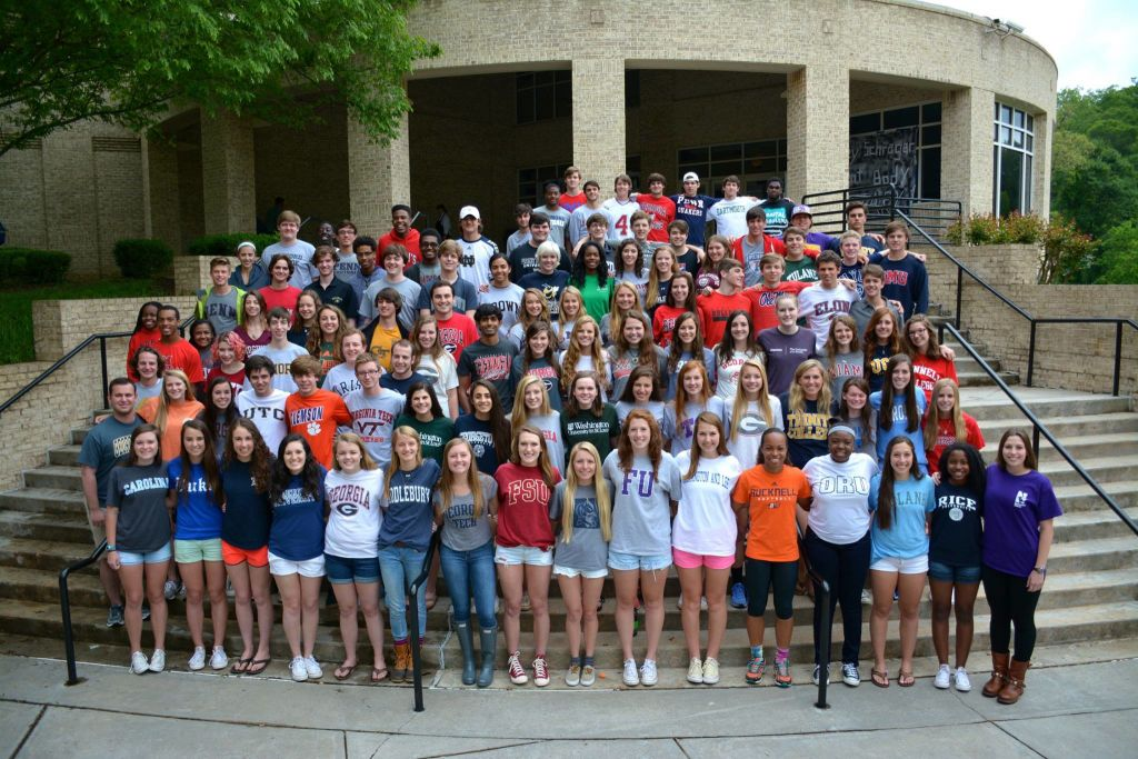 The Class of 2015 will be attending many different schools across the country  Credit: Ryan Vihlen
