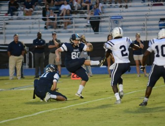 Knights Edge out White County, 16-14