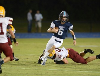 Pace Runs Over Holy Innocents' on Homecoming, 26-0.