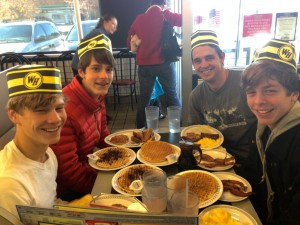 Mr. Whyte and Pace students often visit Waffle House for a nice breakfast Credit: Max Irvine