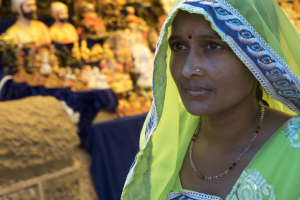 Junior Sari Leven's photo from India, contribution to the November exhibition. Photo: Sari Leven