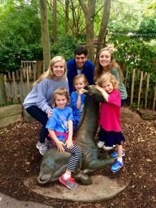 Seniors and Pre First students enjoy the Giraffe exhibit at Zoo Atlanta. Photo: Emma Laura Gash