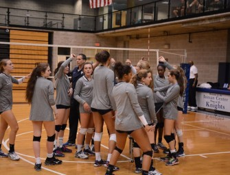 Volleyball Ends Historic Campaign in Elite Eight