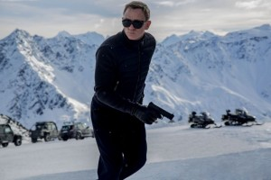 Daniel Craig plays super spy James Bond in 'Spectre.""