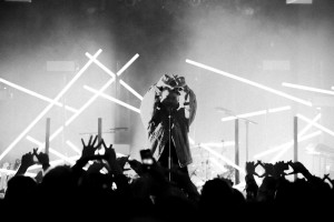 The Weeknd enchants his fans at a concert. Photo: theweeknd.com/home/