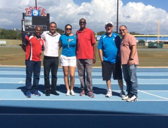 Sra. Agront-Hobbs Organizes AAU Track and Field Meet in Puerto Rico