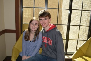 Seniors Jack Dwyer and Paige Williams reign the Upper School couples, dating for over a year in the works. Photo: Sloan Wyatt