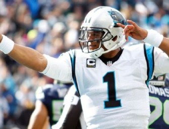 Panthers on Track to Win Super Bowl