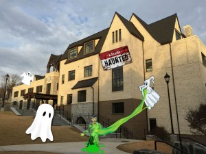 The Pace Academy upper school has become haunted with ghosts and ghouls.