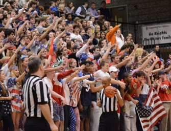 Pace Student Section Sparks Controversy