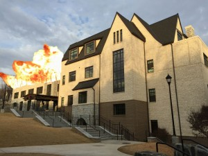 The Arthur M. Blank Family Upper School is prone to sporadic fires. Photo: Anthony Trinh