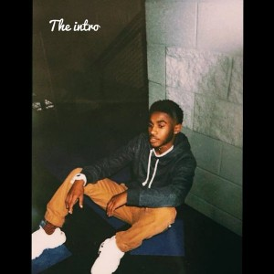 "Senior Xori Johnson has captured the attention of many of his peers with his recent output of music. The picture above is the cover photo for his single ""The Intro"", which debuted on February 6. Photo by Xori Johnson."