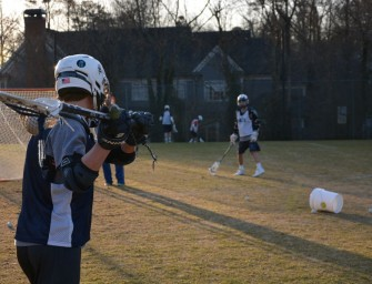 Shooting for Victory: Varsity Boys Lacrosse Shows Promise