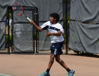 Boys' Tennis Rallies to State Finals