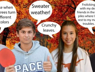Students Share Favorite Aspects of Fall