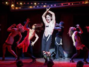 Randy Harrison as Emcee lights up the stage. Photo: Broadway in Atlanta