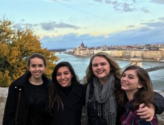 Pace Students Explore, Excel in Budapest