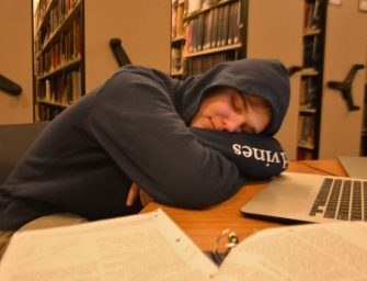 Students Struggle for Slumber